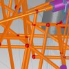 Analysis of intersected bores to apply cross drilling cycles
